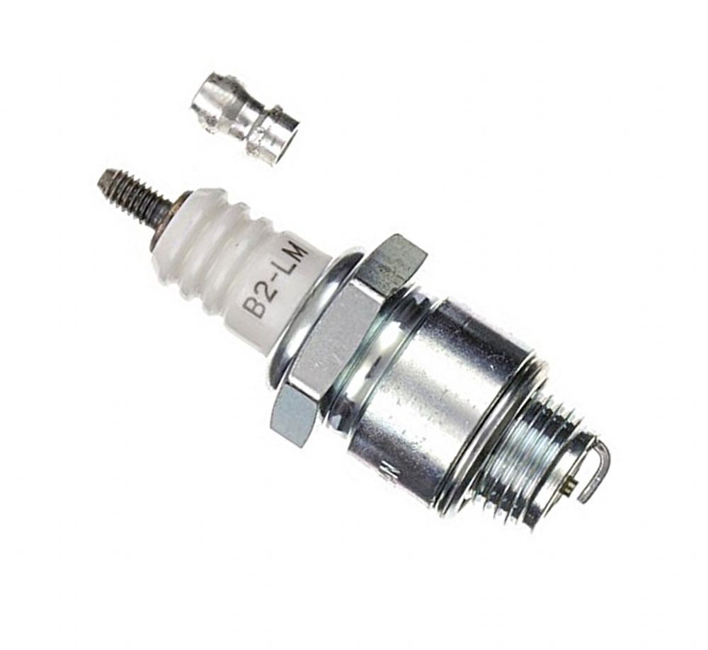 Ngk B Lm Spark Plug Equivalent To Champion J Lm Briggs Stratton S Bosch W E Part P Ekm X Ekm on Lawn Mower Brush Cutter